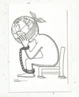 Cp, Illustrateur , Signée Gulliver Pour Amnesty International De La Mayenne, Politique - Politique
