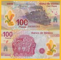Mexico 100 Pesos P-128b 2007 Commemorative UNC Polymer Banknote - Messico