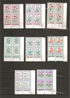 France, Taxe 95/102, Neuf **, TTB, Centaure, Gentiane, Coquelicot, Pervenche, Myosotis, Ancolie, Trèfle, Soldanelle - Dienstpost