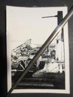 Nantes - Photo Originale - Pont Détruit - Août 1944 - B.E - - Guerre, Militaire