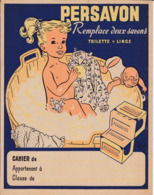 "S Pe/ Protège-cahiers Illustrés > Savon   ""Persavon""   (N= 1) - Book Covers"