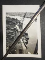 Nantes - Photo Originale - Port - Bateaux Détruits - Août 1944 - B.E - - Guerre, Militaire