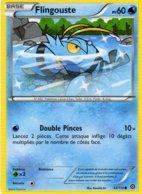 Carte Pokemon 33/114 Flingouste 60pv 2016 - Pokemon