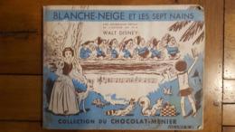 ALBUM COMPLET BLANCHE NEIGE ET LES SEPT NAINS COLLECTION CHOCOLAT MENIER N°2 - Menier