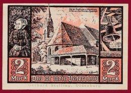 Allemagne 1 Notgeld  De 2 Mark   Stadt  Jever (RARE)   Dans L 'état N° 4915 - [ 3] 1918-1933 : República De Weimar