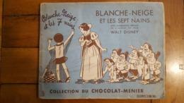 ALBUM COMPLET BLANCHE NEIGE ET LES SEPT NAINS COLLECTION CHOCOLAT MENIER N°1 - Menier