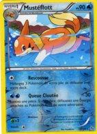 Carte Pokemon 29/106 Musteflott 90pv 2014 Reverse - Pokemon