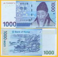 South Korea 1000 Won P-54 2007 UNC Banknote - Korea, South