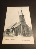 Gulleghem (Gullegem - Wevelgem) : De Kerk - Uitg. R.R. - Gelopen Naar Sweveghem - Wevelgem