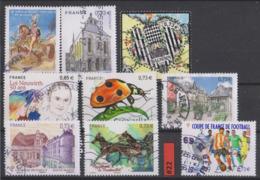 #22 FRANCE - 2017 Lot Timbres Oblitérés - Used Stamps - France