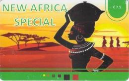 Carte Prépayée - NEW AFRICA SPECIAL  -  7.5 € - Andere Voorafbetaalde Kaarten