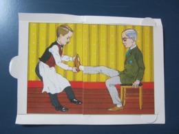 Carte Postale à Système Tirette  Illustration H GALERON - Cartoline Con Meccanismi