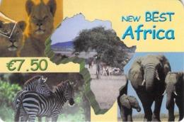 Carte Prépayée - NEW BEST AFRICA   -  7.5 € - Andere Voorafbetaalde Kaarten