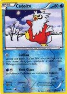 Carte Pokemon 38/149 Cadoizo 80pv 2012 Reverse - Pokemon