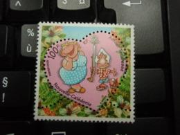 Timbre Nouvelle-Calédonie  100 Francs Amour Tendresse - Neukaledonien
