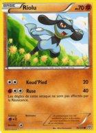 Carte Pokemon 76/135 Riolu 70pv 2013 - Pokemon