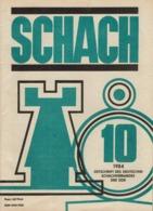 Schach Chess Ajedrez échecs - Schach -Nr 10 / 1984 - Sport