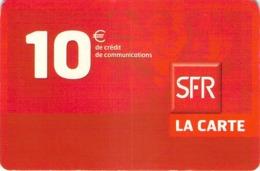 Carte Prépayée - SFR LA CARTE   -  10 € - Frankrijk