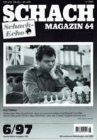 Schach Chess Ajedrez échecs - Schach Magazine - Nr 6 / 1997 - Sport