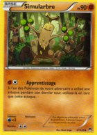 Carte Pokemon 67/122 Simularbre 90pv 2016 - Pokemon