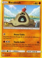 Carte Pokemon 74/149 Bacabouh 80pv 2017 - Pokemon