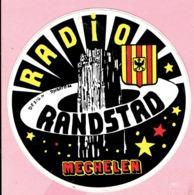 Sticker - RADIO RANDSTAD - Mechelen - Aufkleber