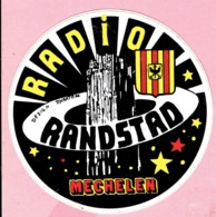 Sticker - RADIO RANDSTAD - Mechelen - Autocollants