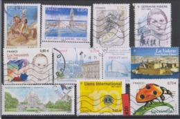 #20 FRANCE - 2017 Lot De Timbres Oblitérés - Used Stamps - France