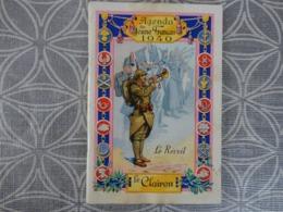 Agenda Du Jeune Français 1940 LE CLAIRON LE REVEIL 50 PAGES  9.5 X 14.1 - Libri, Riviste & Cataloghi
