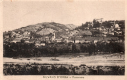 SILVANO D' ORBA - SALUTI - ALESSANDRIA - VIAGGIATA - Alessandria