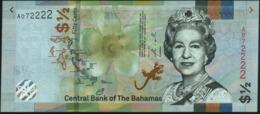 BAHAMAS - ½ Dollar - {50 Cents} 2019 UNC UNC P.New - Bahamas