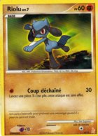 Carte Pokemon 6/11 Riolu 60pv 2008 - Pokemon