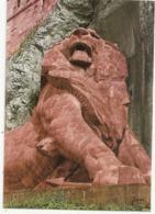 CPM  .  BELFORT  . LE LION . OEUVRE DE BARTOLDI   . CARTE NON ECRITE - Belfort – Le Lion