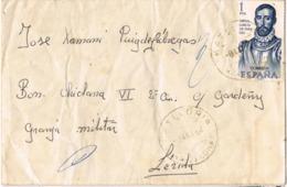34278. Carta LA BATLLORIA (Barcelona) 1964 A Lerida.  Diego Garcia De Paredes, Forjadores - 1931-Hoy: 2ª República - ... Juan Carlos I