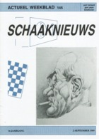 Schach Chess Ajedrez échecs - Schaaknieuws - Nr 145 / 1989 - Tijdschriften