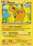 Carte Pokemon 5/12 Pikachu 60pv 2013 Hologramme - Pokemon