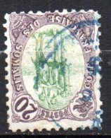 Col17  Colonie Cote Des Somalis  N° 43 Renversé Oblitéré Cote 25,00€ - Oblitérés