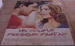 AFFICHE CINEMA ORIGINALE FILM UN COUPLE PRESQUE PARFAIT SCHLESINGER MADONNA EVERETT TBE 2000 - Plakate & Poster