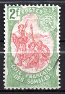 Col17  Colonie Cote Des Somalis  N° 51 Oblitéré Cote 45,00€ - Oblitérés