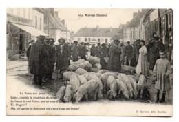""""""" Le Morvan Illustré """" - La Foire Aux Porcs . - Landbouwers"""