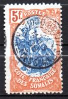 Col17  Colonie Cote Des Somalis  N° 52 Oblitéré Superbe Cote 35,00€ - Oblitérés