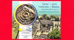 Nuovo - MNH - VATICANO - 2019 - 25 Anni Relazioni Diplomatiche Tra Santa Sede E Israele – Cafarnao - 1.15 - Congiunta - Blocchi E Foglietti