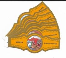 MURILLO  ASTERIX  1B-10B  GOLD  ORANGE - Cigar Bands