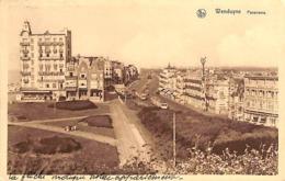 Wenduine Wenduyne - Panorama (tram Tramway 1936) - Wenduine