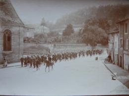 Rare!  Belle Photo Ancienne 1908 Saint Mihiel Meuse 55 Militaria 29ème Bataillon Des Chasseurs  ! - Saint Mihiel