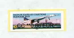 Vignette Lisa Salon Collection Mulhouse  Ecopli Theme Concorde - 2010-... Abgebildete Automatenmarke