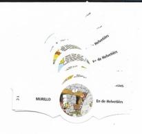 MURILLO  ASTERIX  1C-10C  NO BORDER  WHITE - Cigar Bands