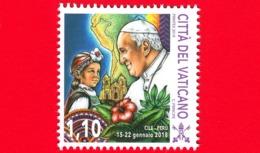 Nuovo - MNH - VATICANO - 2019 - Viaggi Del Papa Nel 2018 - Cile E Perù - Bambina Cilena Mapuche – 1.10 - Vatican