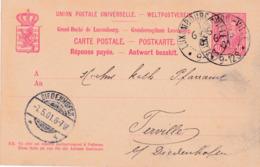 Carte Postale-Postkaart Luxembourg>Diedenhofen Thionville Moselle Occupée 1901 - 1895 Adolphe Profil