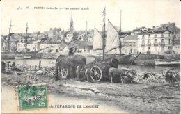 44 - PORNIC - N° 88 - Les Quais Et La Cale - Transport Des Algues- Attelages Bovins - Circulé 1911 - - Pornic